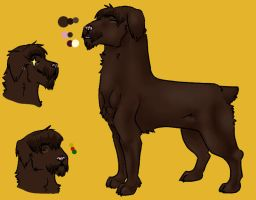 ref for Bran by VeryArtish
