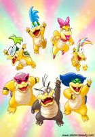 KOOPALINGS color print by DadaHyena