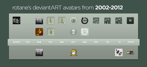 10 Year Avatar Collection by rotane
