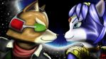 Fox wants Krystal to join him in Smash by Kaphonie
