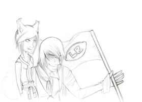 Cover Sketch GMOCT by Teal-and-Coral
