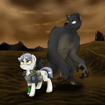 Sink pony and Beast by Slouping
