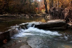 Shoal Creek, Arkansas by xDewdropx