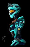 Halo Reach female spartan by Romantically-Geeky