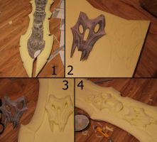 Darksiders WAR Cosplay Crafting (ChaosEater 6) by MEG-Cosplay
