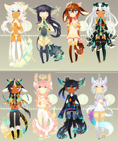 [SET PRICE - 20$] Spritetail adopts - CLOSED by mintbuns