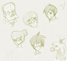 Sketch Dump Thigy by DreamGalvin