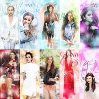 Avatars (Miley Cyrus, Lucy Hale, Ariana Grande) by LightsOfLove