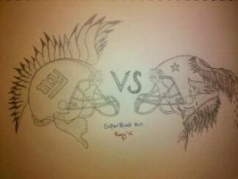 N.Y. GAINTS VS. PARTIOT 2011 by Remy1983