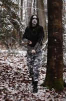 Black Metal X by Cruzio