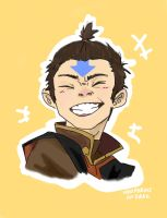 Aang THE HAIR BENDARRR by supremedrae