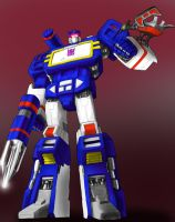 Coloured Soundwave Lineart by liliwen