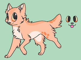 Adoptable wolf- closed by HappyDucklings