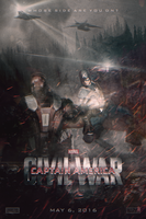 CAPTAIN AMERICA: CIVIL WAR | Poster by Squiddytron