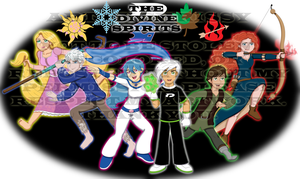 The Divine Spirits Together by DivineSpiritual