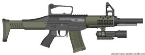 SG-663 MCS Mobile Combat Shotgun by BurnerMeen