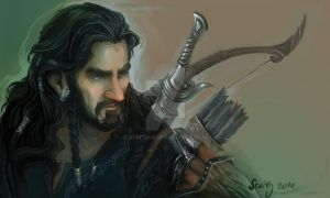 Thorin (sketch) by SceithAilm