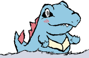 Totodile by RapidashKing