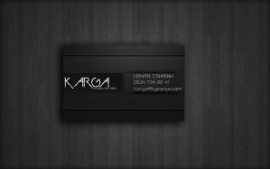 Business card karga by bykarga
