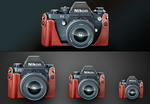 Nikon Icons by art3h