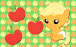 Baby Apple jack WP by AliceHumanSacrifice0