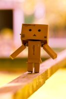 Danbo wants to do gymnastics by Pamba