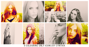 Coloring Only Icons by gotasecret-xx