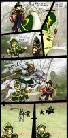 Dynasty warriors by CircuitDruid