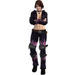 Dead or Alive - Christie (Leather) Recolor II by CaliburWarrior