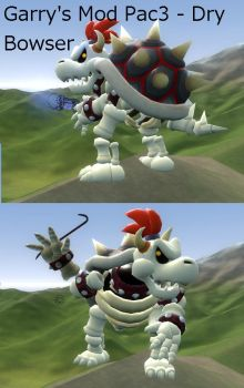 Gmod Pac3 - Dry Bowser PlayerModel ( Download ) by Catty-Mintgum