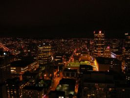 Vancouver At Night - Last One by greent