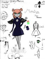 Character Study: Monica by coco-the-personer