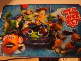Toy Story Placemat by spidyphan2