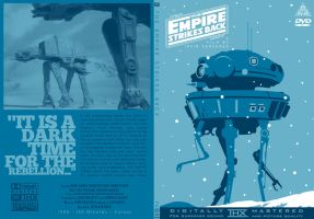 Empire Strikes Back DVD Cover by TomBerryArtist