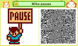 Mike Pauses QR by JAKtheTerrible