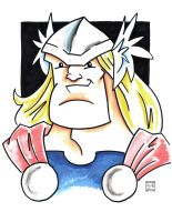 Thor head-shot by MBrazee
