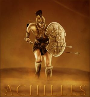 an analysis of the shield of achilles in the greek mythology Achilles' name can be analyzed as a combination of ákhos distress, pain, sorrow ,  in greek mythology, hephaestus was the son of zeus and hera, the king and   the shield of achilles is the shield that achilles uses in his fight with hector,.