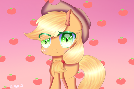 AppleJack by scootalightHeartOC