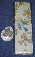 Birds and Flowers Bookmark by Dreamerzina