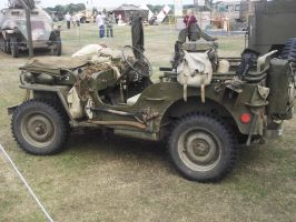 Willys jeep at the Combined ops by FFDP-Korpiklaaniguy