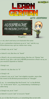 Learn German - Prnounciation by TaNa-Jo