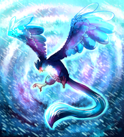 Articuno used Sheer cold by HERthatDRAWS