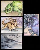 Surprise ACEO batch 2 by Mystalia
