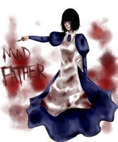 .::Mad Father::. by TemporaryCrayon