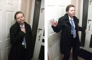 Castiel Cosplay 4 by InkSpillage