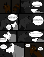 Wolf tracks page 101 by alicesapphriehail