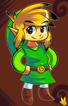 Toon Link by LegendWaker