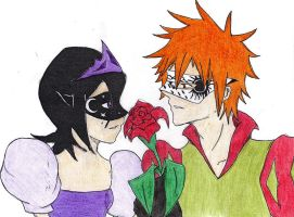 Rukia Moon and Ichigo Sun by Dark-Skater-Girl