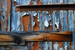 Wood Paint Peeling V by LogicalXStock
