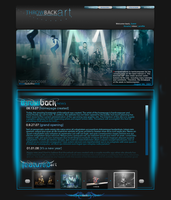 Throwback Homepage by HardcorePoser